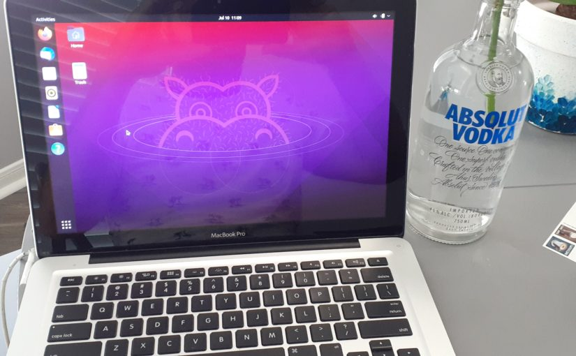 Installing Linux on an old Mac